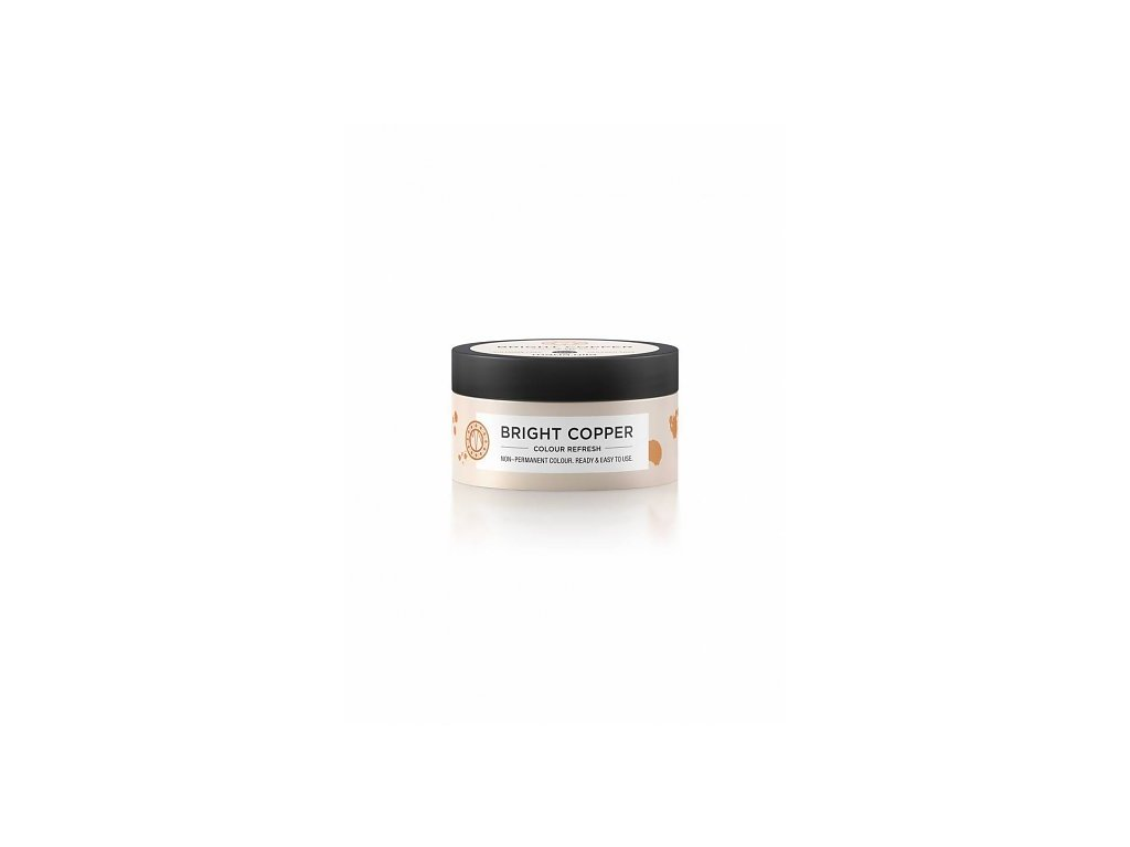 Maria Nila Colour Refresh Bright Copper 7.40 100 ml  + Jednorázové rukavice na barvení zdarma + Vzorek šamponu Maria Nila