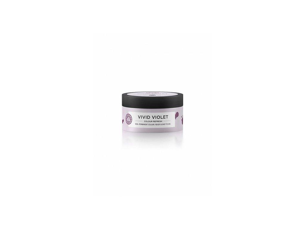 Maria Nila Colour Refresh Vivid Violet 0.22 100 ml  + Jednorázové rukavice na barvení zdarma + Vzorek šamponu Maria Nila