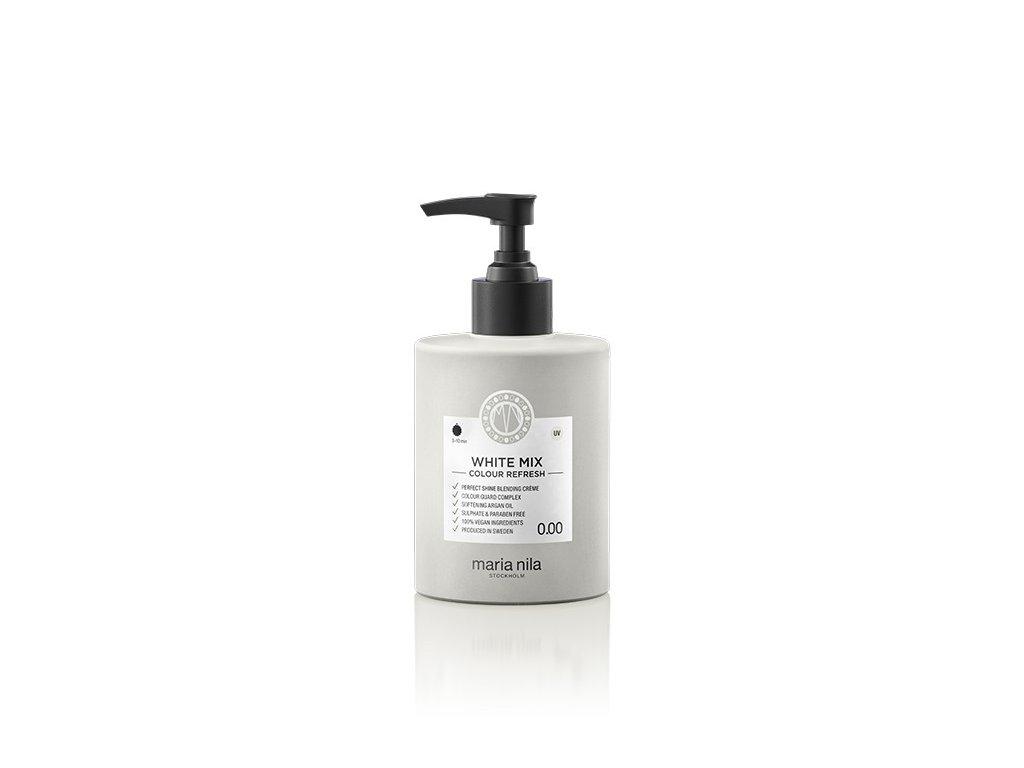 Maria Nila Colour Refresh White Mix 0.00 300 ml  + Jednorázové rukavice na barvení zdarma + Vzorek šamponu Maria Nila