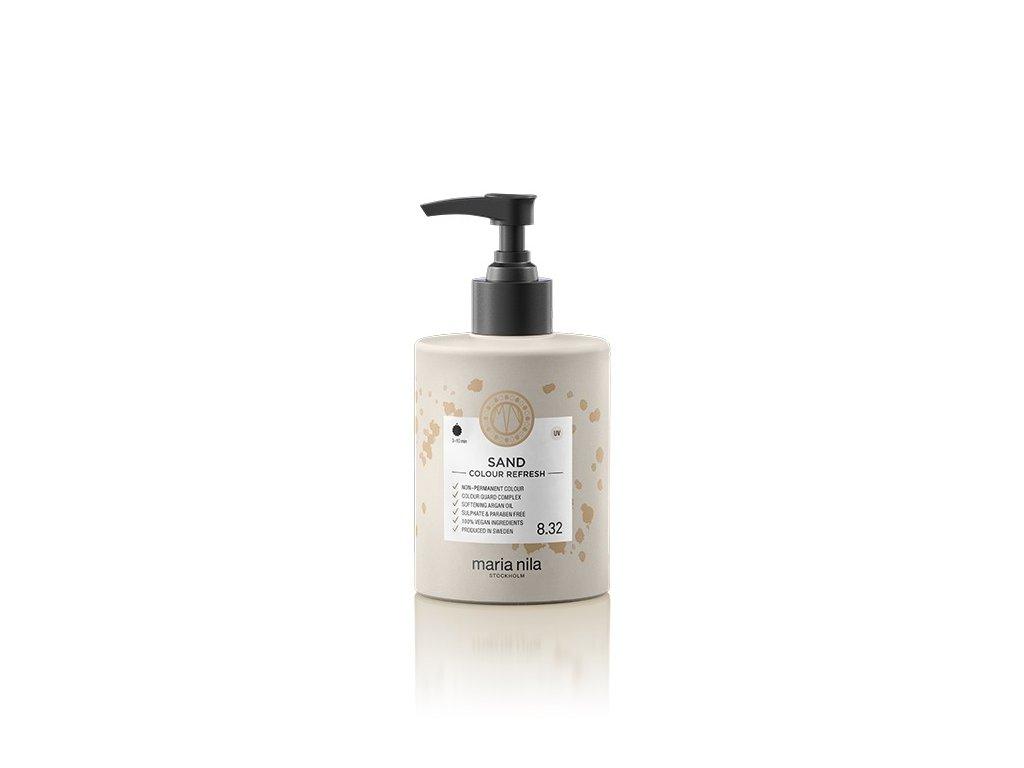 Maria Nila Colour Refresh Sand 8.32 300 ml  + Jednorázové rukavice na barvení zdarma + Vzorek šamponu Maria Nila