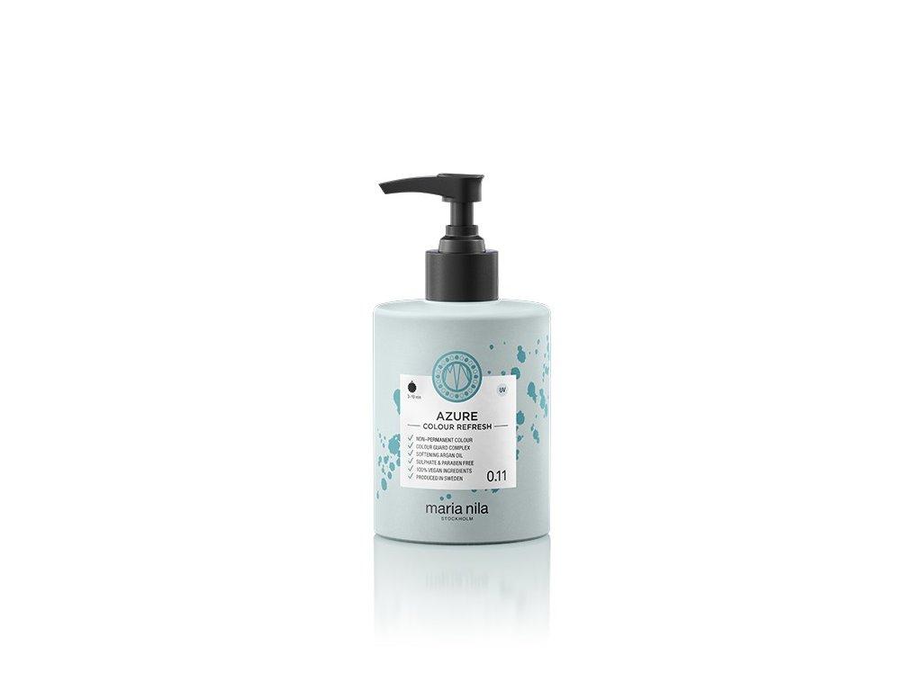 Maria Nila Colour Refresh Azure 0.11 300 ml  + Jednorázové rukavice na barvení zdarma + Vzorek šamponu Maria Nila