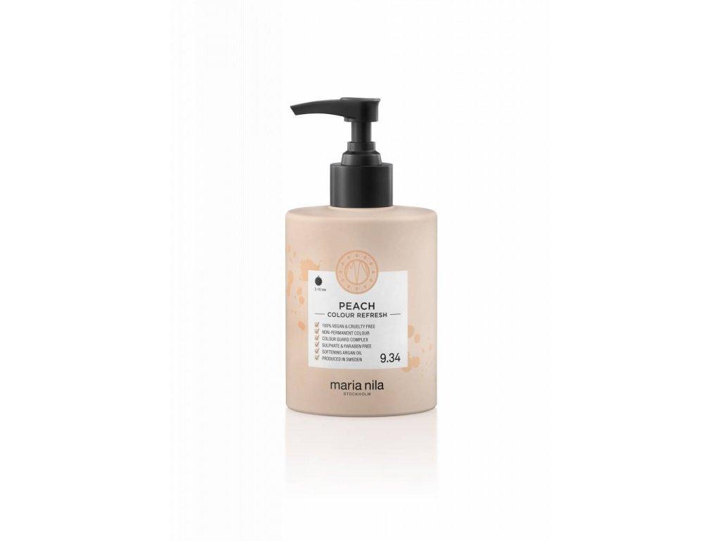 Maria Nila Colour Refresh Peach 9,34 300 ml  + Jednorázové rukavice na barvení zdarma + Vzorek šamponu Maria Nila