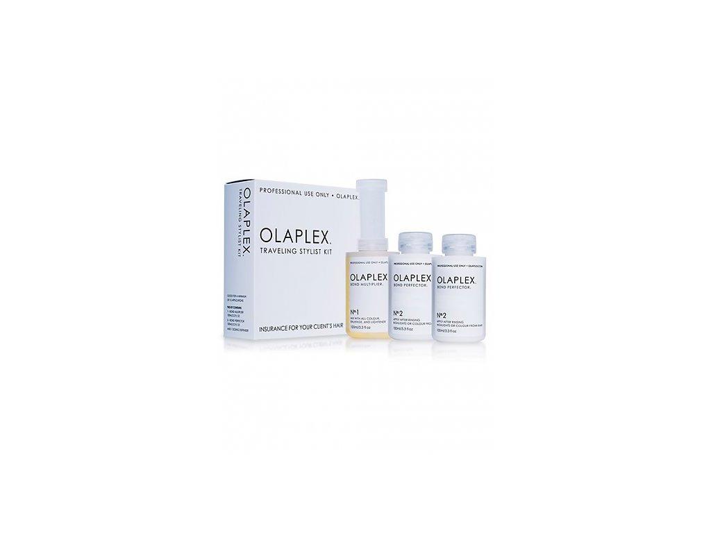 3780 olaplex traveling stylist kit sada pro barvene nebo chemicky osetrene vlasy 300 ml