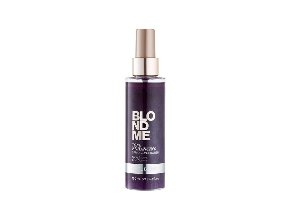 3828 schwarzkopf professional blondme tone enhancing spray conditioner cool blondes 150 ml