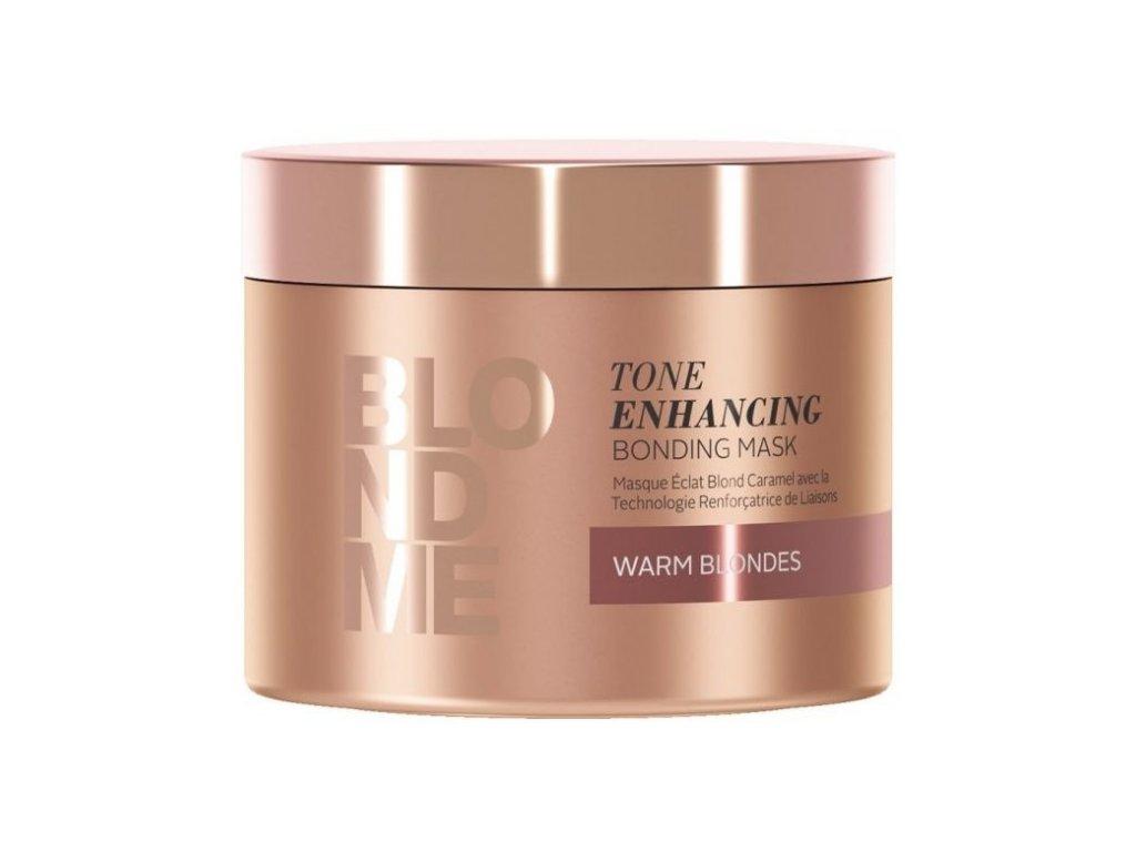 3834 schwarzkopf professional blondme tone enhancing bonding mask warm blondes 200 ml