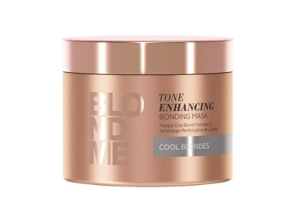 3837 schwarzkopf professional blondme tone enhancing bonding mask cool blondes 200 ml