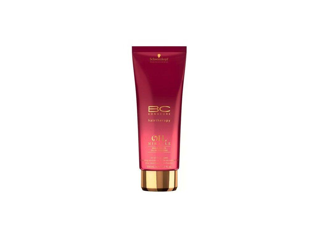 4104 schwarzkopf bc bonacure oil miracle brazilnut oil in shampoo 200 ml