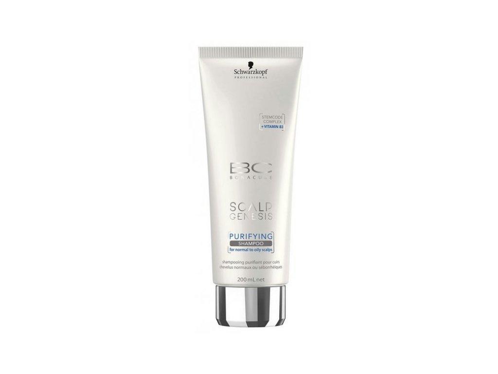 4107 schwarzkopf bc bonacure scalp genesis purifying shampoo 200 ml