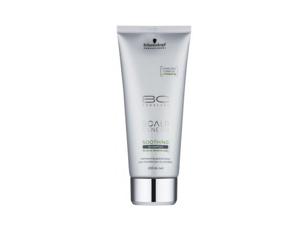 4119 schwarzkopf bc bonacure scalp genesis soothing shampoo 200 ml