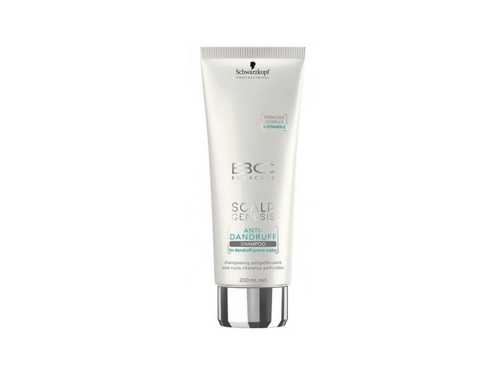 4122 schwarzkopf bc bonacure scalp genesis anti dandruff shampoo 200 ml