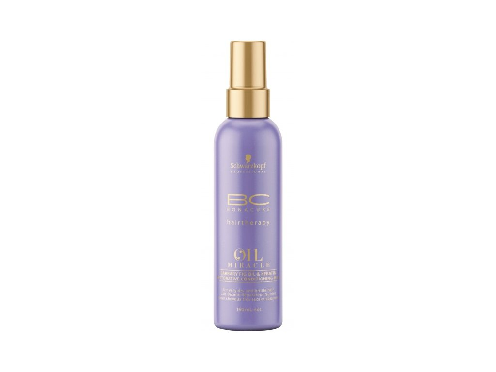 4137 schwarzkopf bc bonacure oil miracle barbary fig oil spray conditioner 150 ml