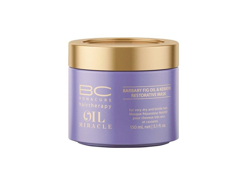 4194 schwarzkopf bc bonacure oil miracle barbary fig oil restorative mask 150 ml