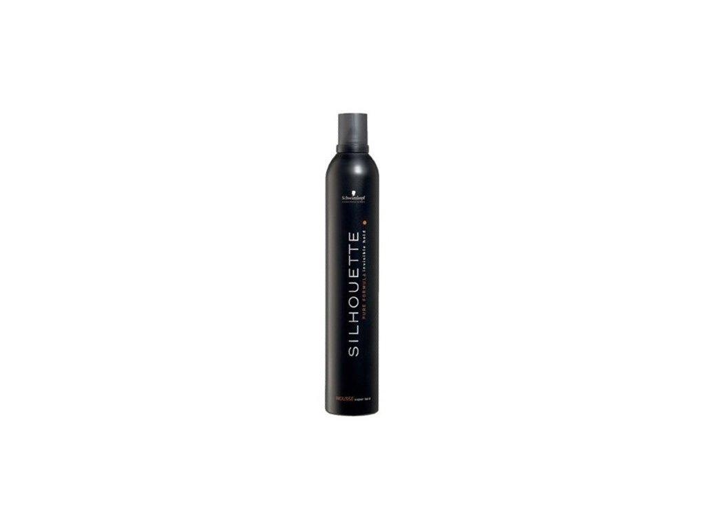 4299 schwarzkopf silhouette super hold mousse maxi 500 ml