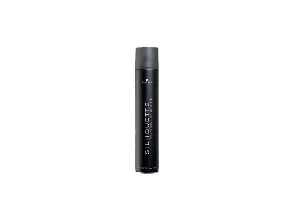 4323 schwarzkopf silhouette super hold hairspray maxi 750 ml
