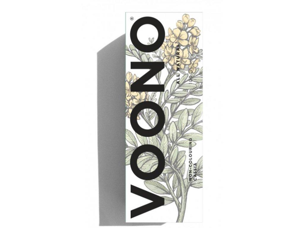 Voono Henna Cassia Obovata - přírodní barva na vlasy - neutrální odstín 100g