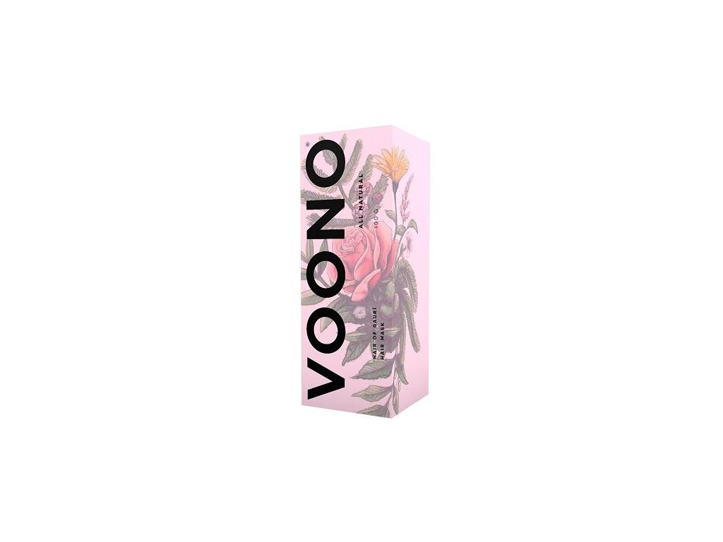 Voono Hair of Gaurí Hair - Přírodní maska na vlasy a vlasovou pokožku 100 g