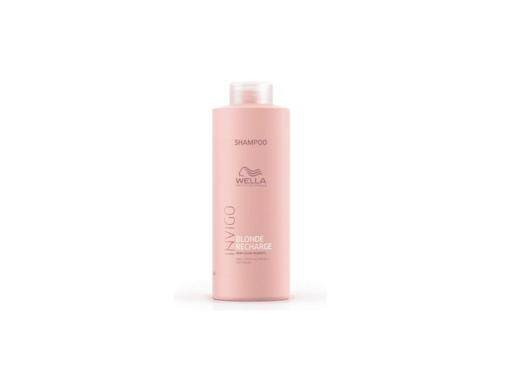 Wella Professionals Invigo Blonde Recharge Cool Blonde Shampoo 1000 ml