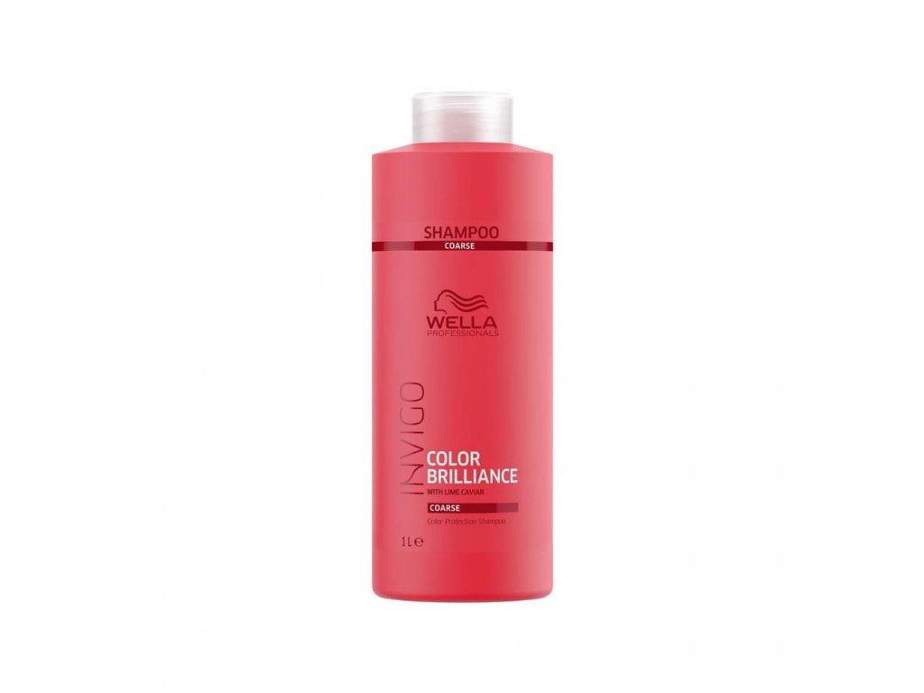 Wella Professionals Invigo Color Brilliance Coarse Shampoo 1000ml