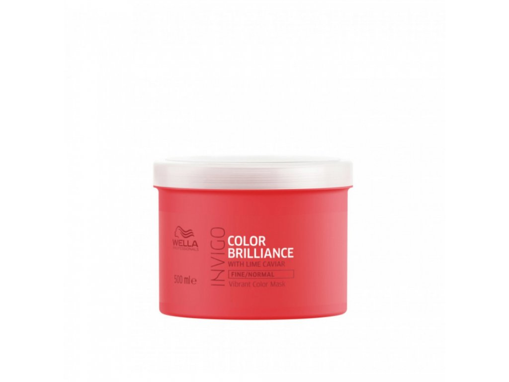 Wella Professionals Invigo Color Brilliance Vibrant Color Mask Fine 500 ml