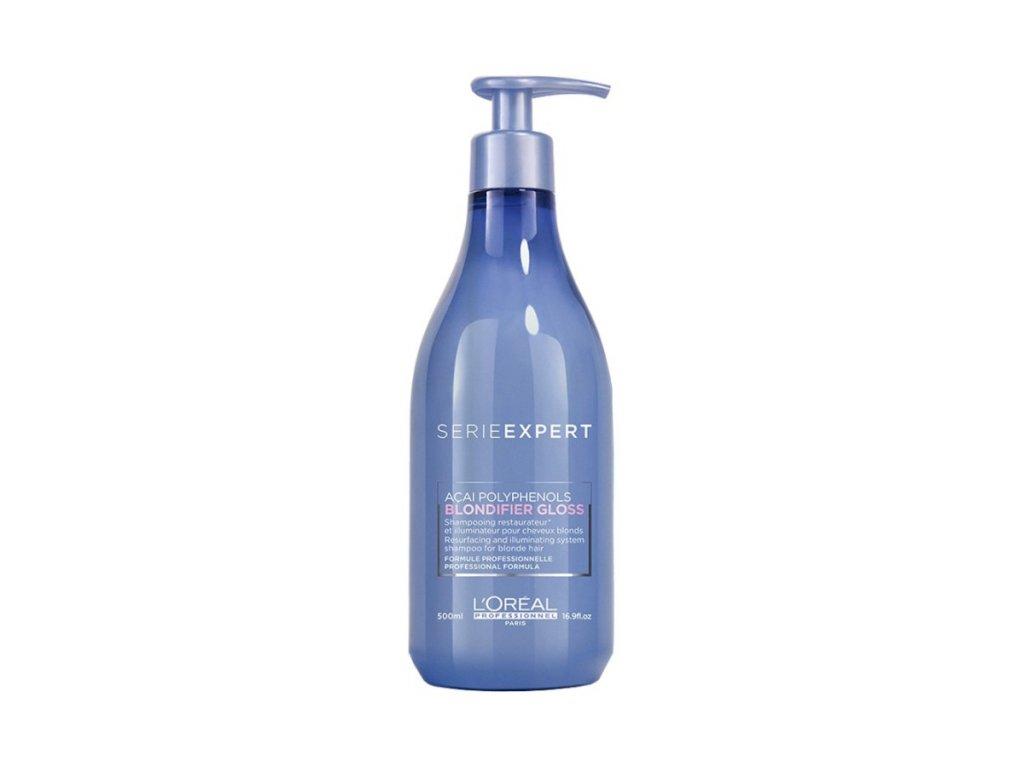 vyr 1868 L Oreal Professionnel Serie Expert Blondifier Gloss Shampoo 500 ml