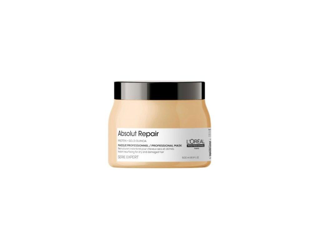 L'Oréal Professionnel Serie Expert Absolut Repair Gold Quinoa+Protein Instant Resurfacing Mask 500ml