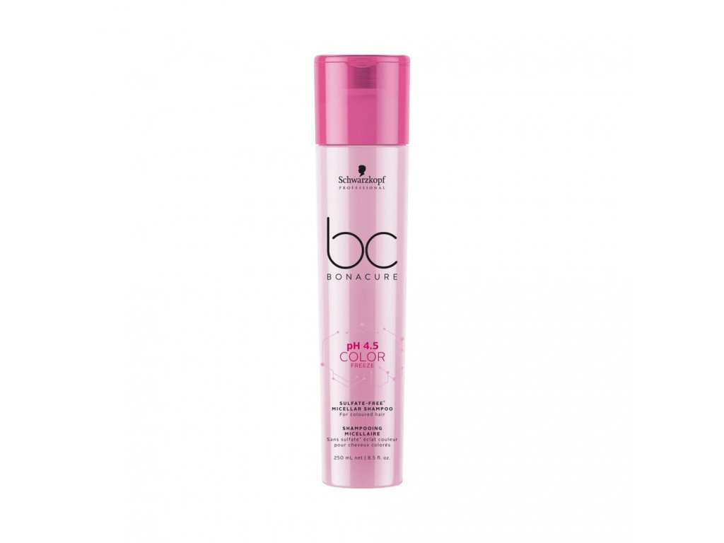 Schwarzkopf Professional pH 4,5 BC Bonacure Color Freeze Sulfate Free Micellar Shampoo 250 ml