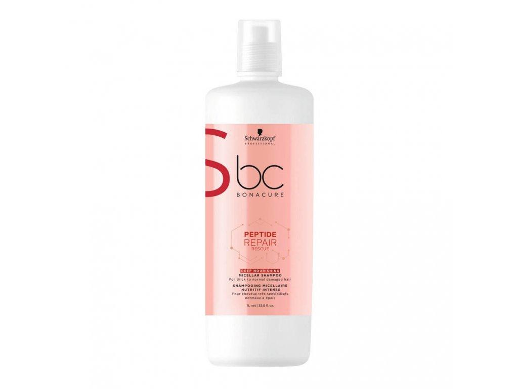 Schwarzkopf Professional BC Peptide Repair Rescue Deep Nourishing Micellar Shampoo 1000 ml