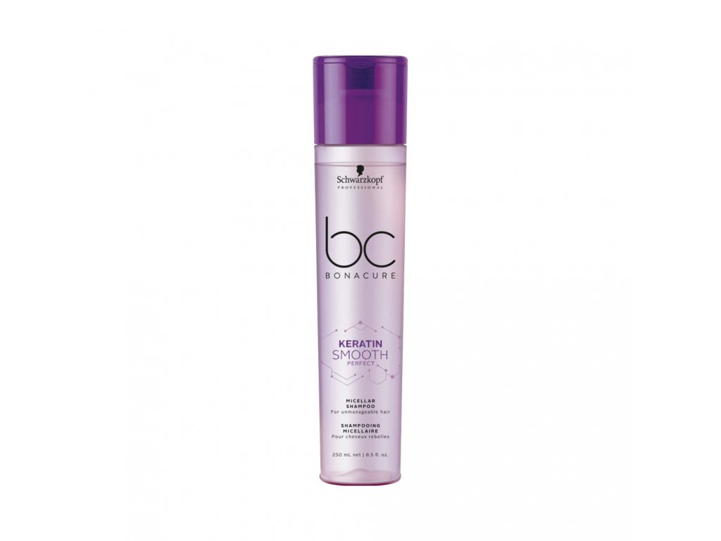 Schwarzkopf Professional BC Bonacure Smooth Perfect Keratin Micellar Shampoo 250 ml
