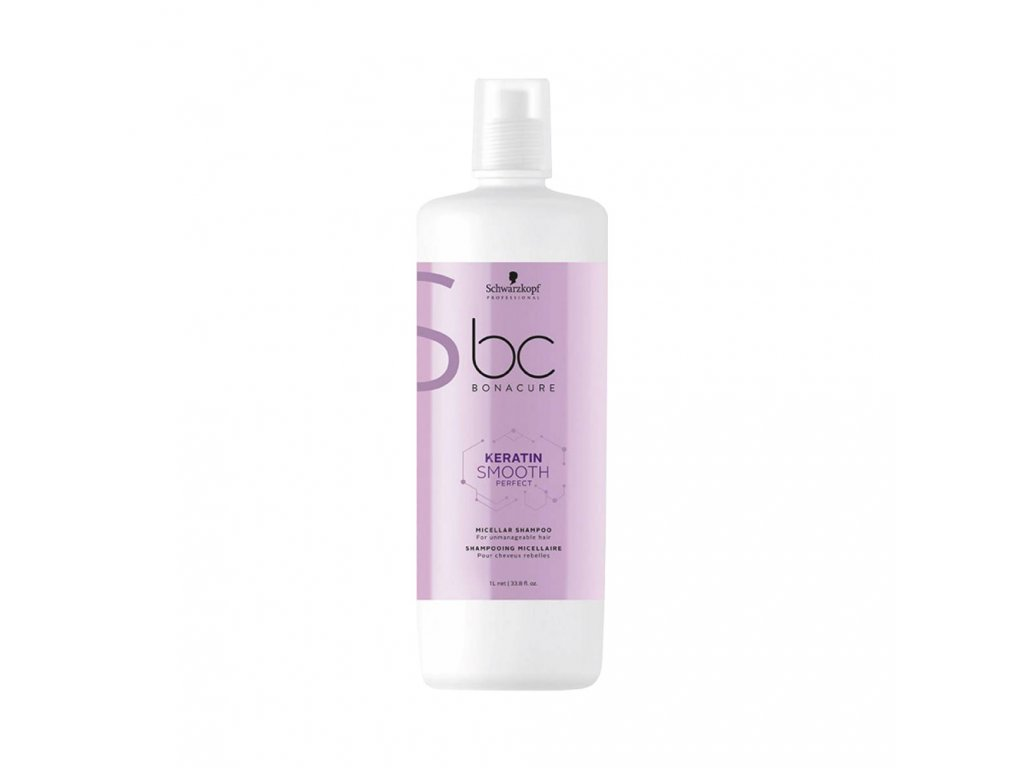 Schwarzkopf Professional BC Bonacure Smooth Perfect Keratin Micellar Shampoo 1000 ml