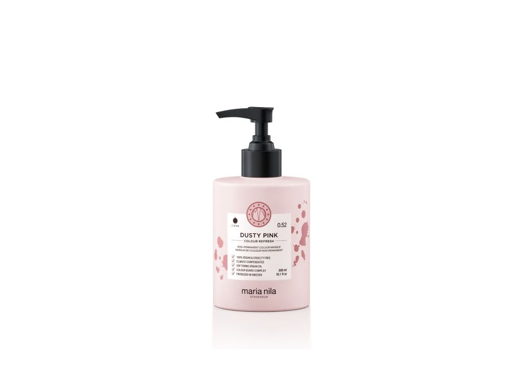 maria nila colour refresh 0,52 dusty pink 300 ml