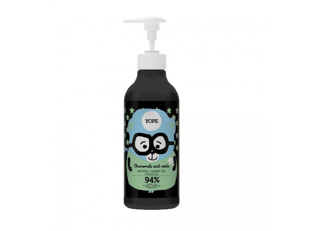 Yope shower gel for kids chamomile and nettle 400ml