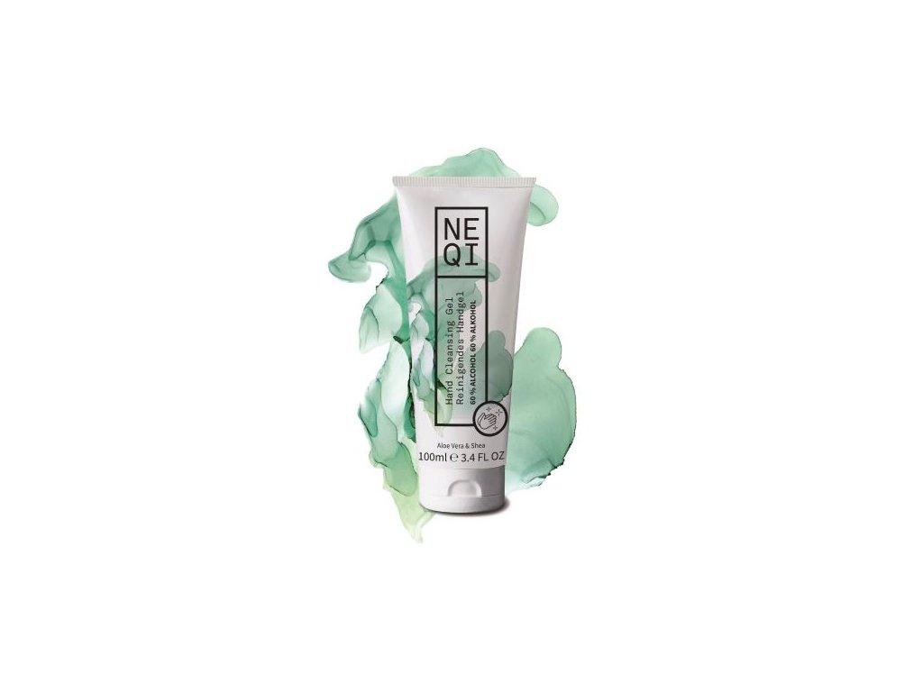 Neqi hand cleansing gel aloe vera shea 100ml
