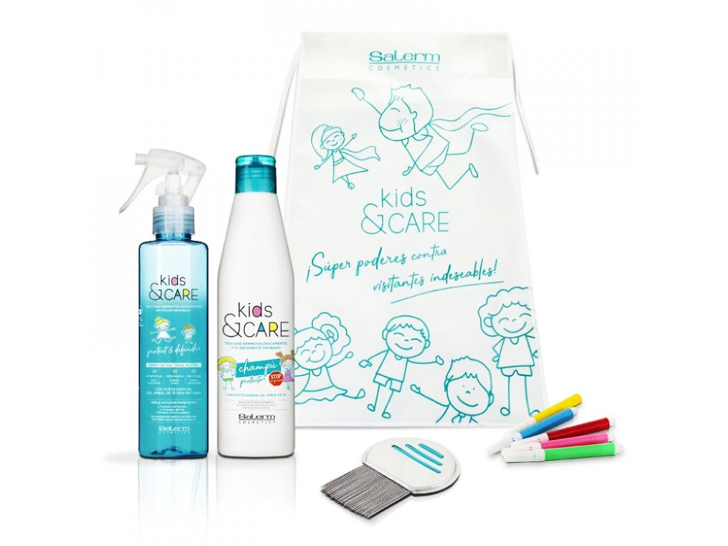 Salerm KidsCare kosmetická sada pro péči o dětské vlasy