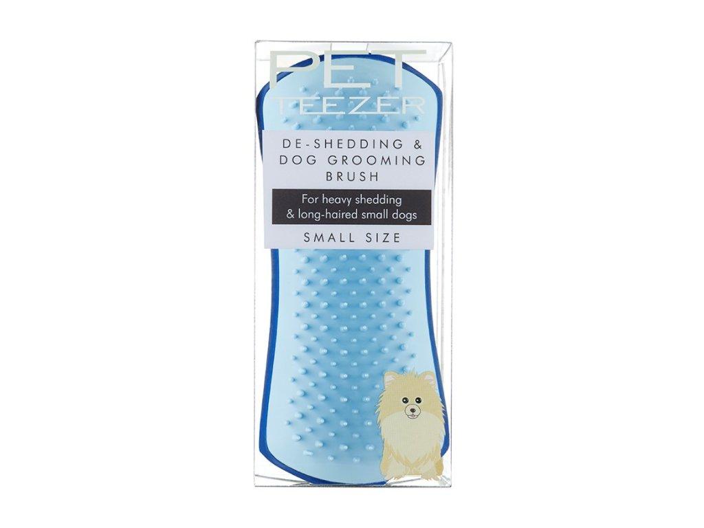Tangle Teezer Pet Teezer De shedding small blue kartáč pro psy