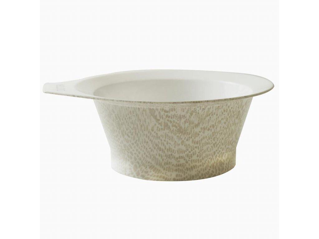 Colortrak - Safari Chic Color Bowl - Barvicí miska Safari bílá