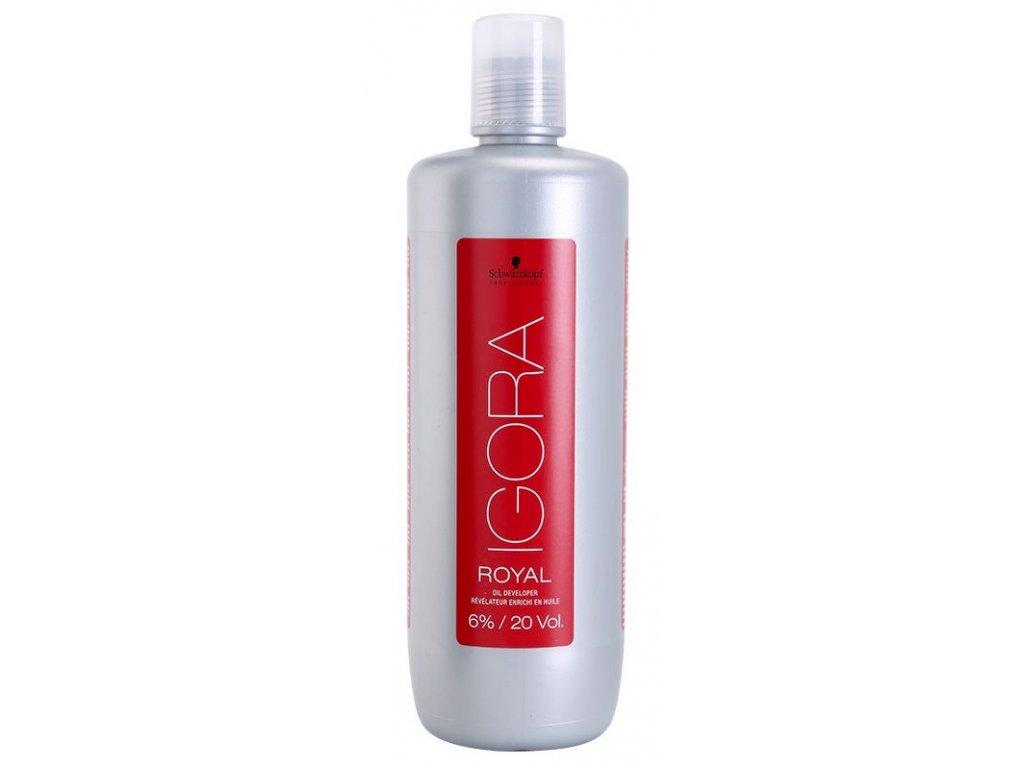 Schwarzkopf Professional Igora Royal Oil Developer 6% 1000 ml