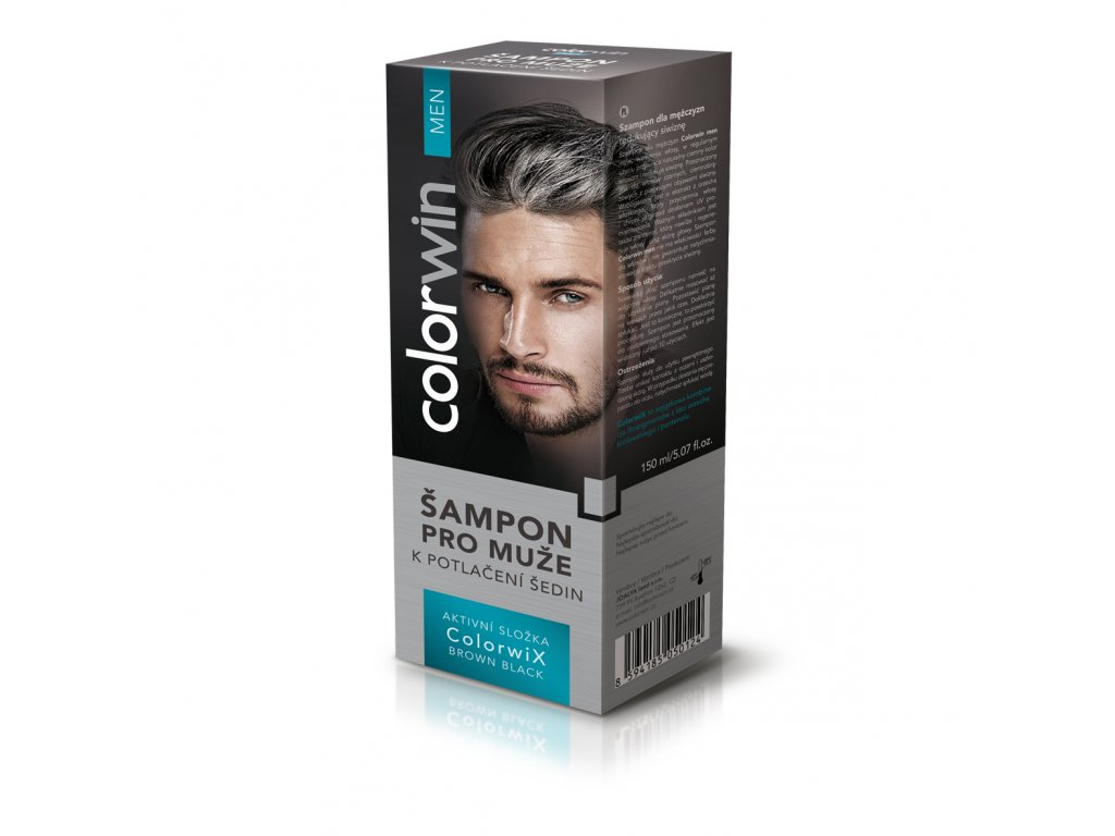 Colorwin Šampon pro muže k potlačení šedin 150 ml