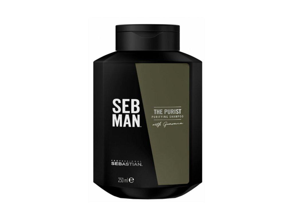 Sebastian Professional Seb Man The Purist Shampoo 250 ml