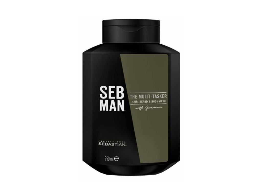 Sebastian professional Sebman THE MULTITASKER 3 IN1 BEARD, HAIR & BODY WASH 250 ml
