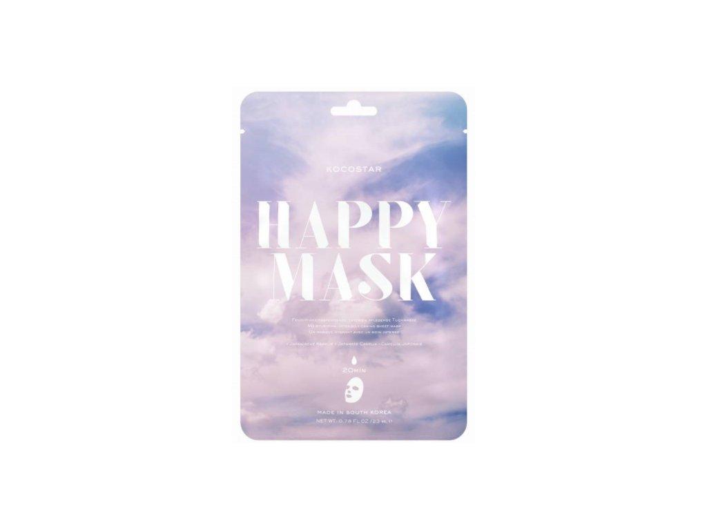 Kocostar pleťová maska Camellia Happy Mask 23 ml