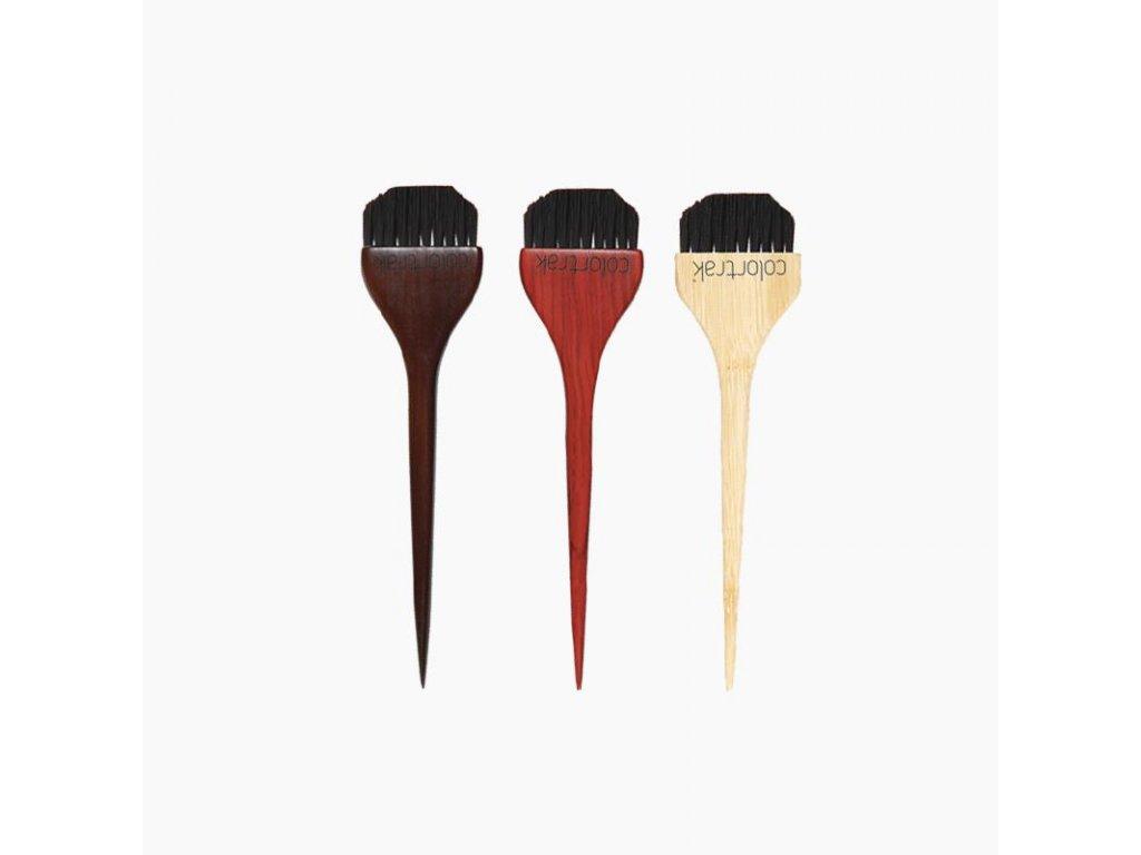 Colortrak - Wide Wood Color Brushes - Barvící štětec Wood - sada