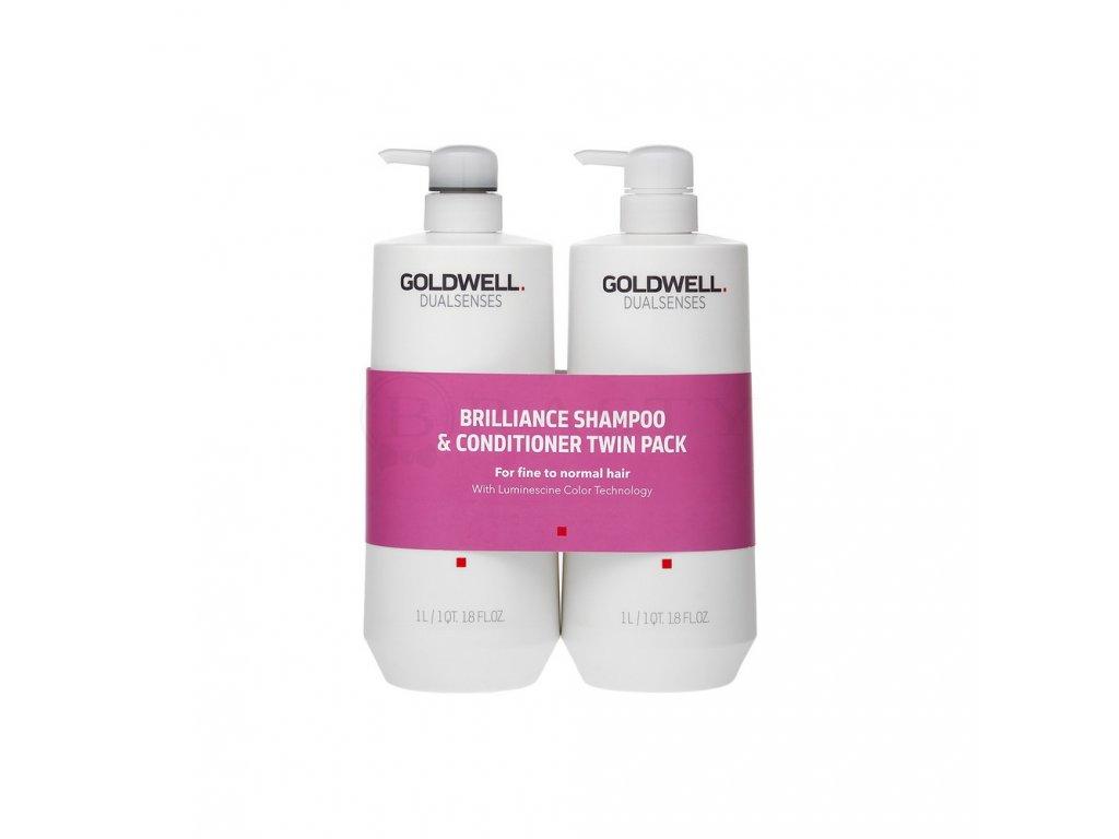 Goldwell Dualsenses Color Brilliance Shampoo & Conditioner Twin 2x1000ml