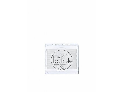 Invisibobble® BASIC Crystal Clear - gumička na vlasy 10ks