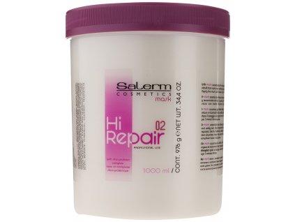Salerm Hi Repair maska pro poškozené vlasy 1000 ml