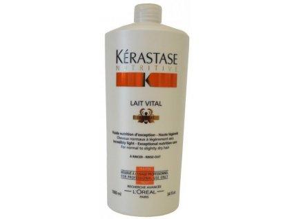 Kérastase Nutritive Lait Vital Irisome 1000 ml  + Dávkovací pumpa zdarma