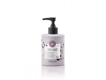 Maria Nila Colour Refresh Vivid Violet 0.22 300 ml  + Jednorázové rukavice na barvení zdarma + Vzorek šamponu Maria Nila