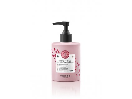Maria Nila Colour Refresh Bright Red 0.66 300 ml  + Jednorázové rukavice na barvení zdarma + Vzorek šamponu Maria Nila