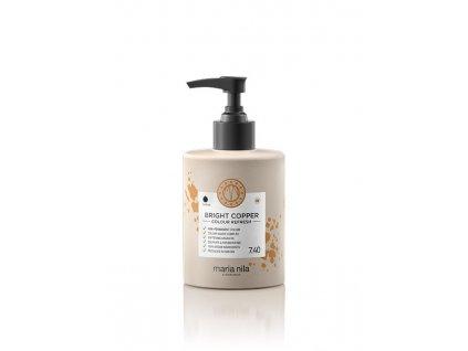 Maria Nila Colour Refresh Bright Copper 7.40 300 ml  + Jednorázové rukavice na barvení zdarma + Vzorek šamponu Maria Nila