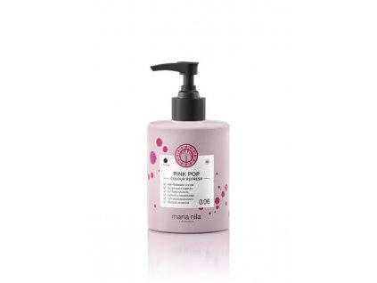 Maria Nila Colour Refresh Pink Pop 0.06 300 ml  + Jednorázové rukavice na barvení zdarma + Vzorek šamponu Maria Nila