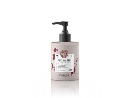 Maria Nila Colour Refresh Autumn Red 6.60 300 ml  + Jednorázové rukavice na barvení zdarma + Vzorek šamponu Maria Nila